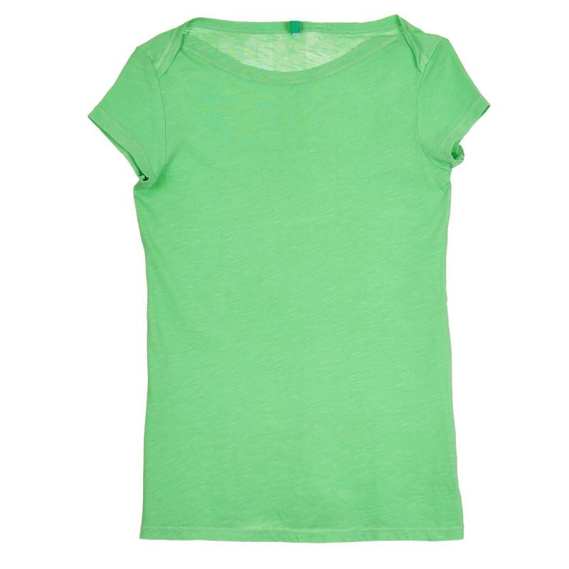 Памучна тениска, зелена  268531