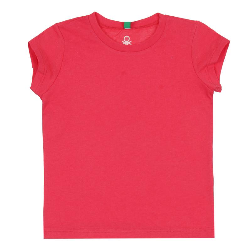 Памучна тениска, червена  268660