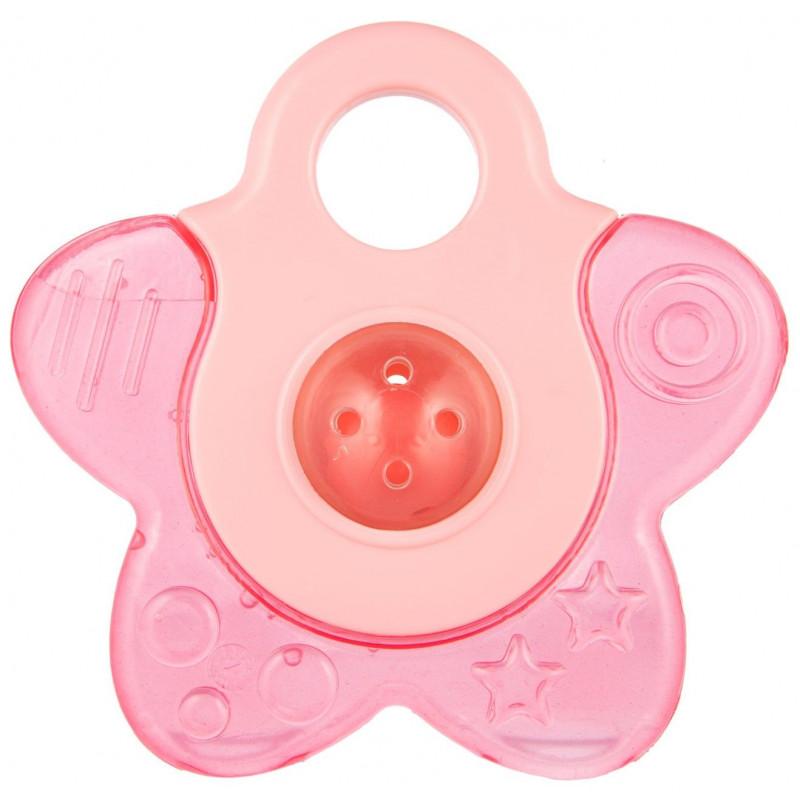 Водна чесалка с дрънкалка STAR, розов  268732