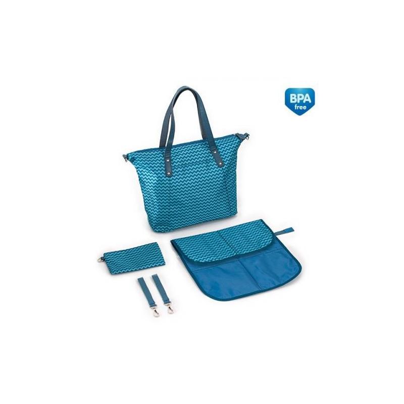 Чанта за количка, тюркоаз  268752