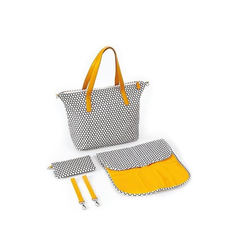 Чанта за количка, жълта  268756