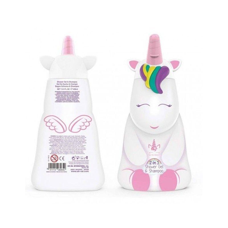 Душ гел и шампоан Eau My Unicorn 2D, 400 мл  268763