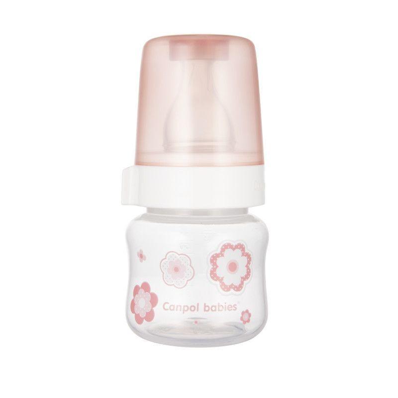 Полипропиленово шише за коластра, Newborn baby, 60 мл., розово  268793