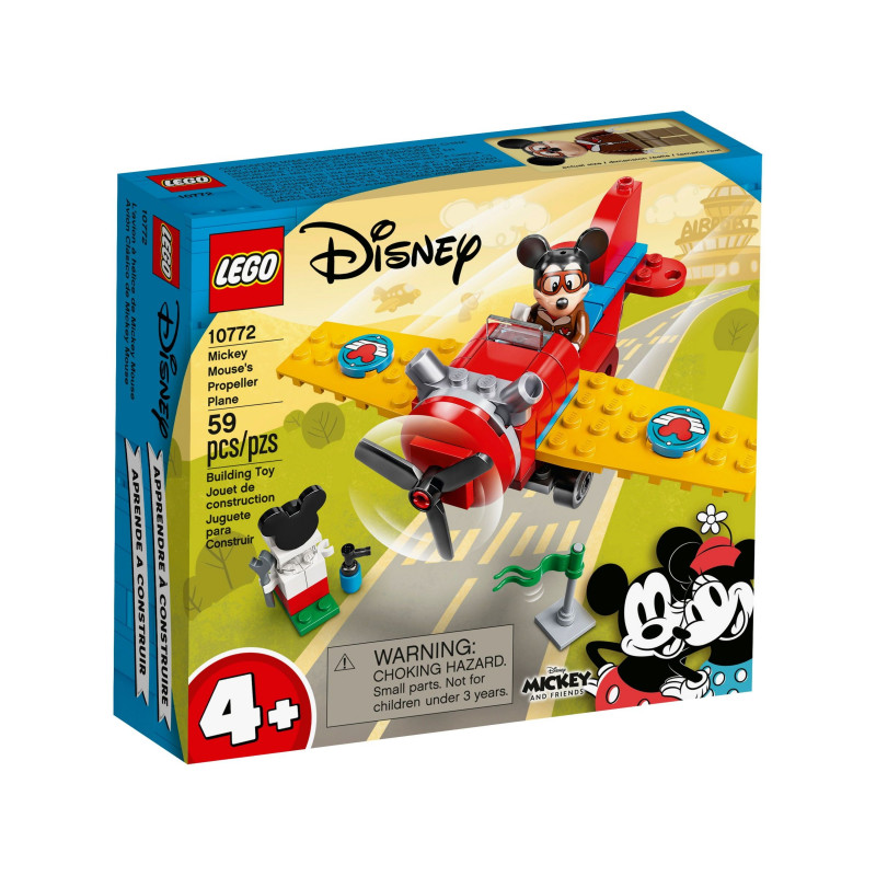 Конструктор - Витловият самолет на Mickey, 59 части  268827