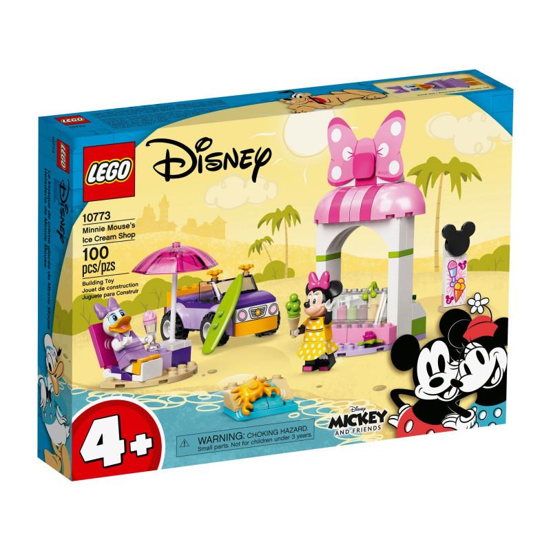 Конструктор - Магазинът за сладолед на Minnie, 100 части  268834