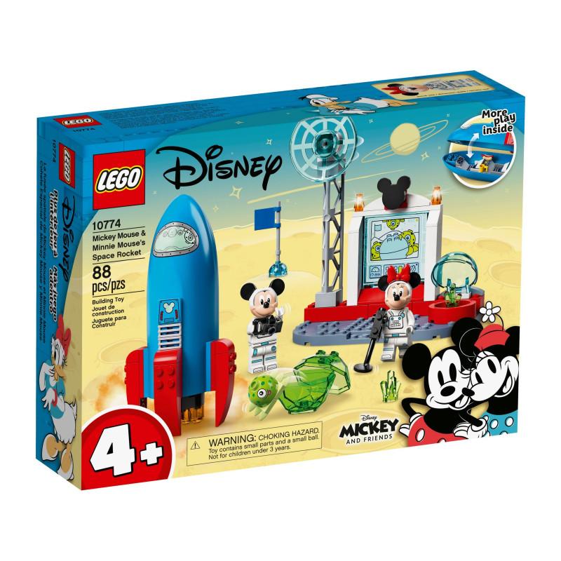 Конструктор - Космическата ракета на Mickey и Minnie, 88 части  268842