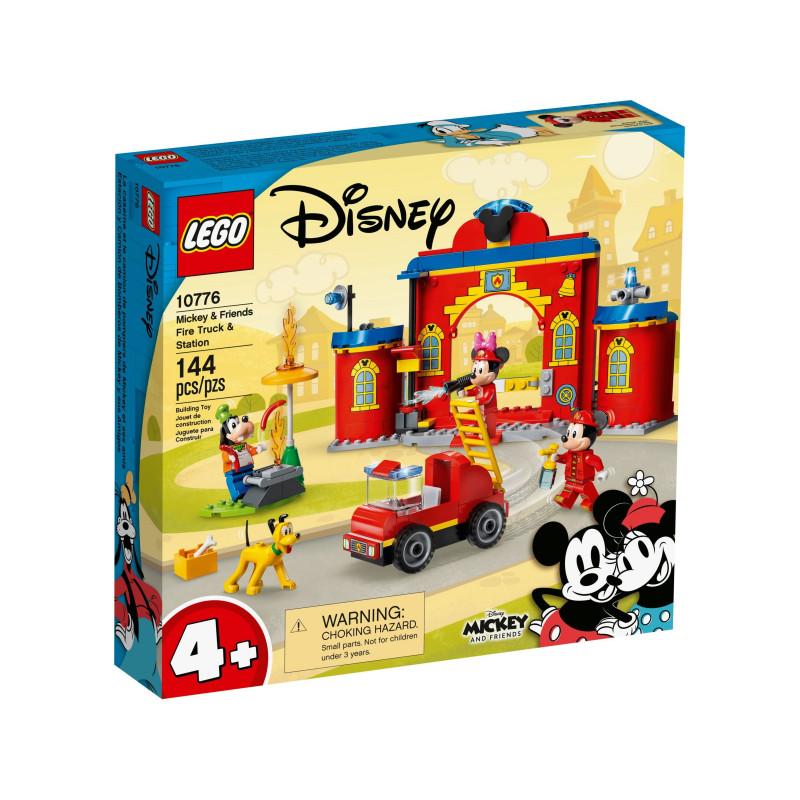 Конструктор - Пожарникарска станция и камион на Mickey and Friends, 144 части  268850