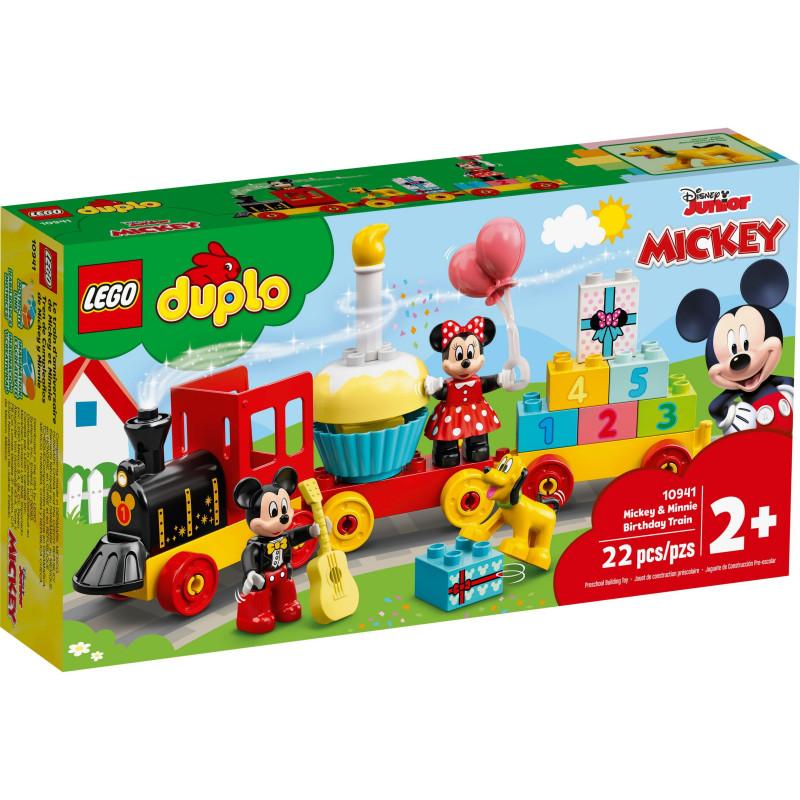 Конструктор - Влак за рождения ден на Mickey и Minnie, 22 части  268865