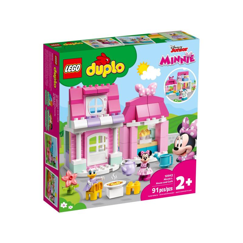 Конструктор - Къщата и кафето на Minnie, 91 части  268872