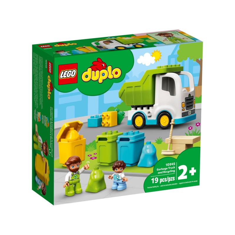 Конструктор - Камион за отпадъци и рециклиране, 19 части  268882