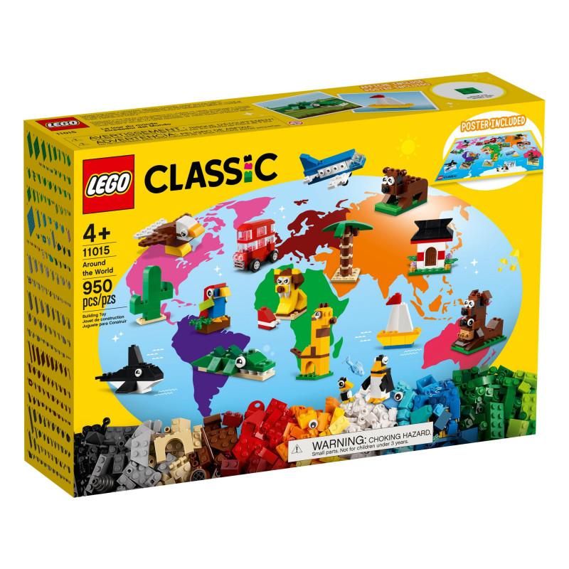 Конструктор - Около света, 950 части  268906