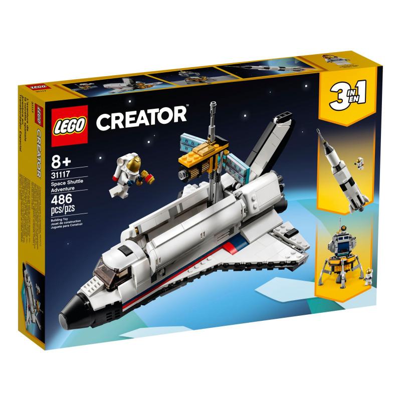 Конструктор - Приключение с космическа совалка, 486 части  268913