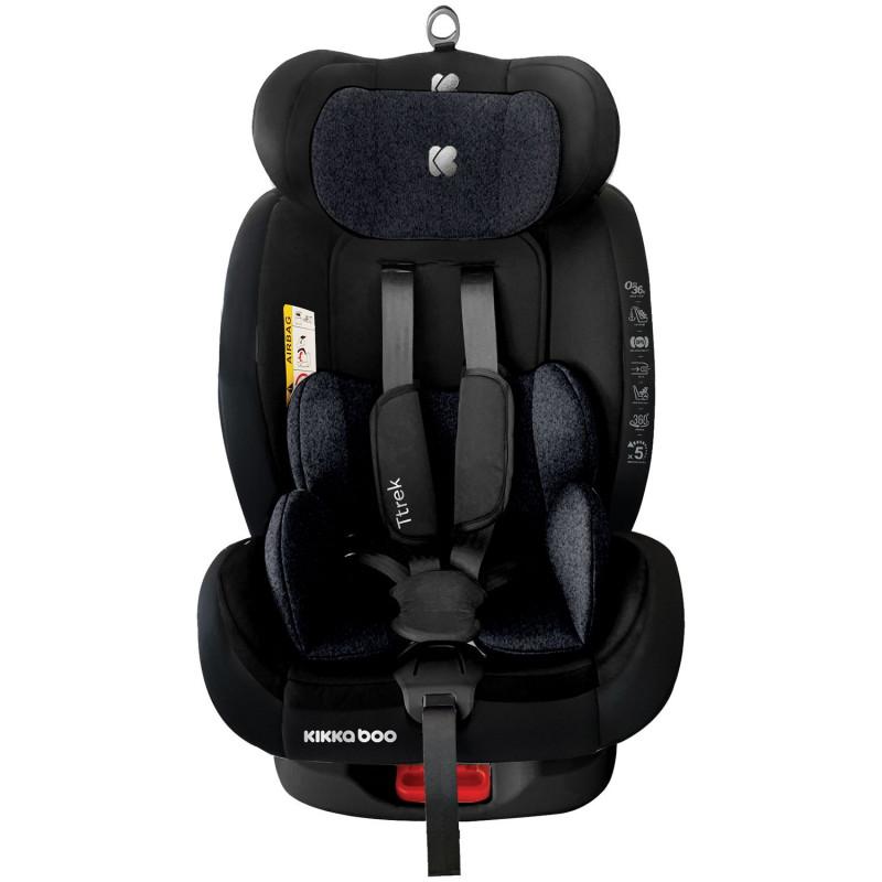 Стол за кола 0-1-2-3 (0-36 кг) Ttrek Black 2020  269674