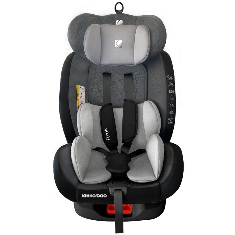 Стол за кола 0-1-2-3 (0-36 кг) Ttrek Grey 2020  269675