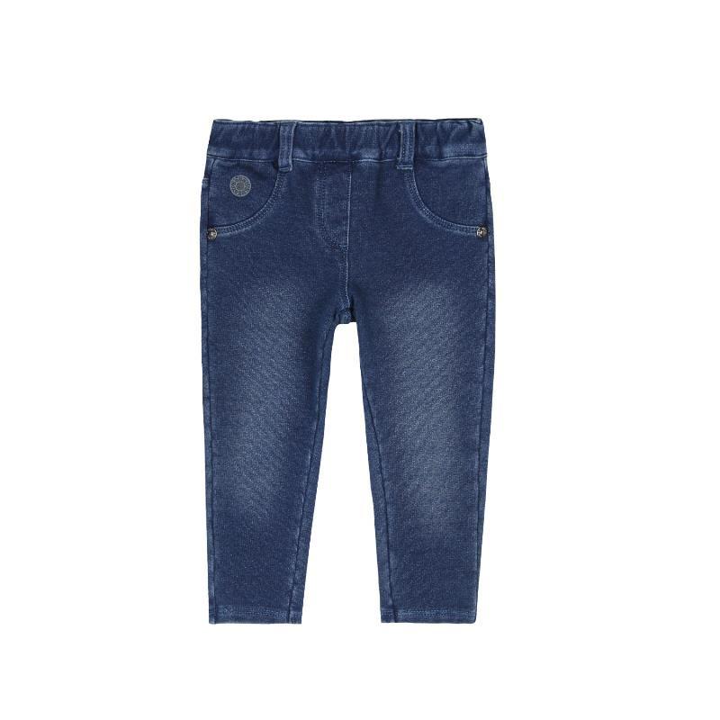 Дънков панталон за момиче, син  271