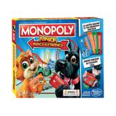 Монополи джуниър, електронно банкиране e1842 Hasbro 2714