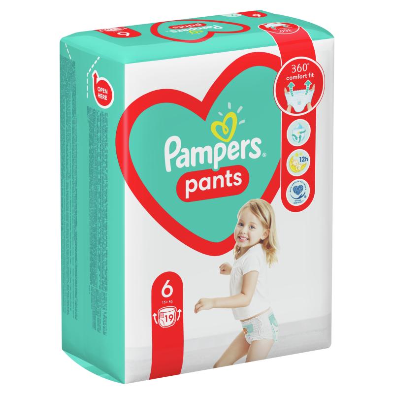 Пелени-гащички Pants XL, размер 6, 19 бр.  272501