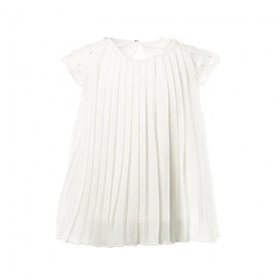 382452e47f5 Рокля с къс ръкав 707217-1111 Boboli за Момиче | Ежедневни рокли ...