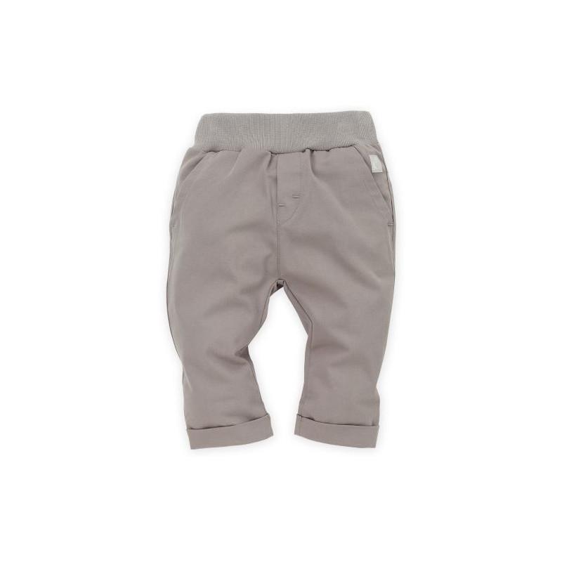 Панталон с подгъв и широк ластик за бебе момче  28246