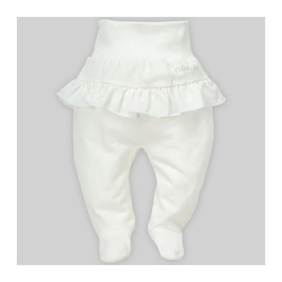 Памучни ританки с широк ластик за бебе момиче Pinokio 28248