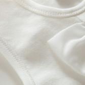 Памучен гащеризон без ръкави за бебе момиче Pinokio 28249 2