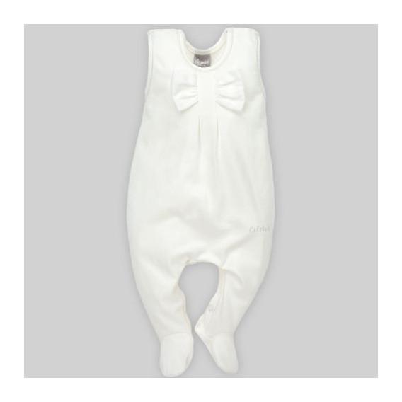 Памучен гащеризон без ръкави за бебе момиче Pinokio 28250