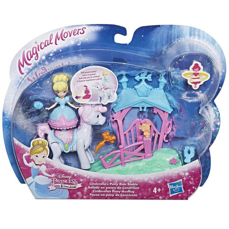 Дисни принцеси - мини комплект с кукла  2827