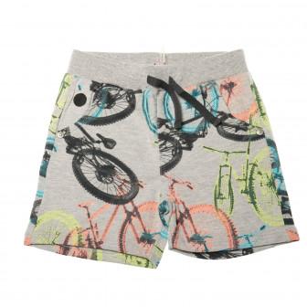 Къси памучни панталони за бебе момче Boboli 28295