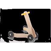 Дървена проходилка с 4 колела Mamatoyz 2835