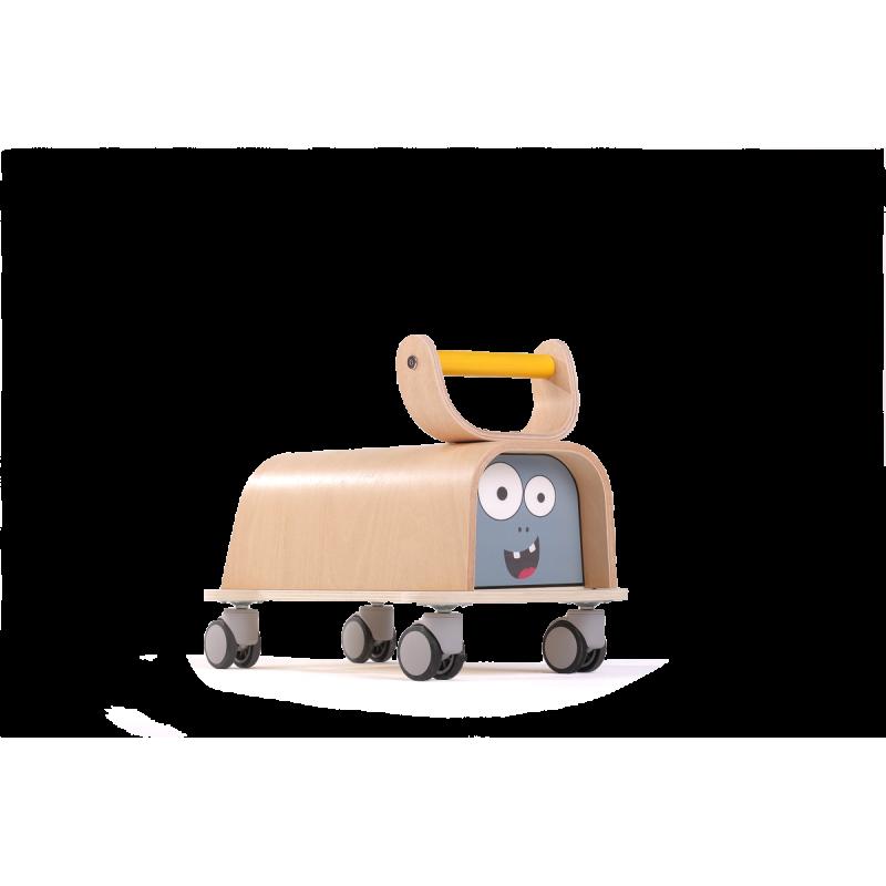 Дървена количка cute monster  2841