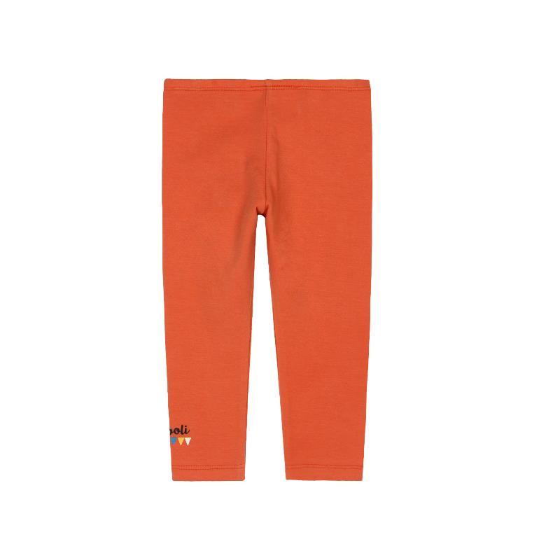 Дълъг клин за момиче, оранжев  285