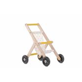 Дървена количка за кукли Mamatoyz 2850