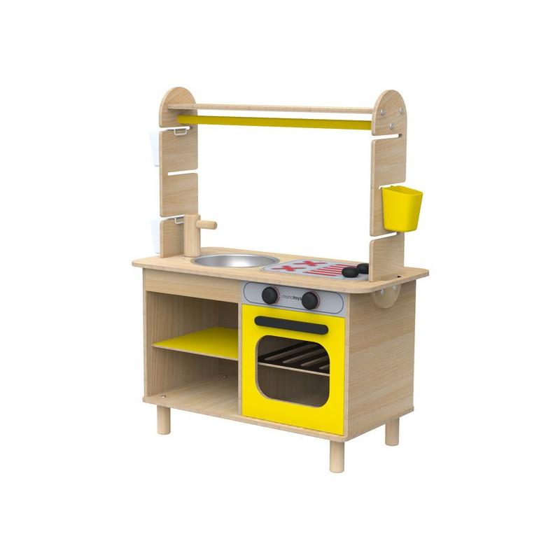 Дървена мини кухня  2858