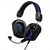 "Геймърски слушалки с микрофон- черни ""urage soundz essential"" HAMA 2883"