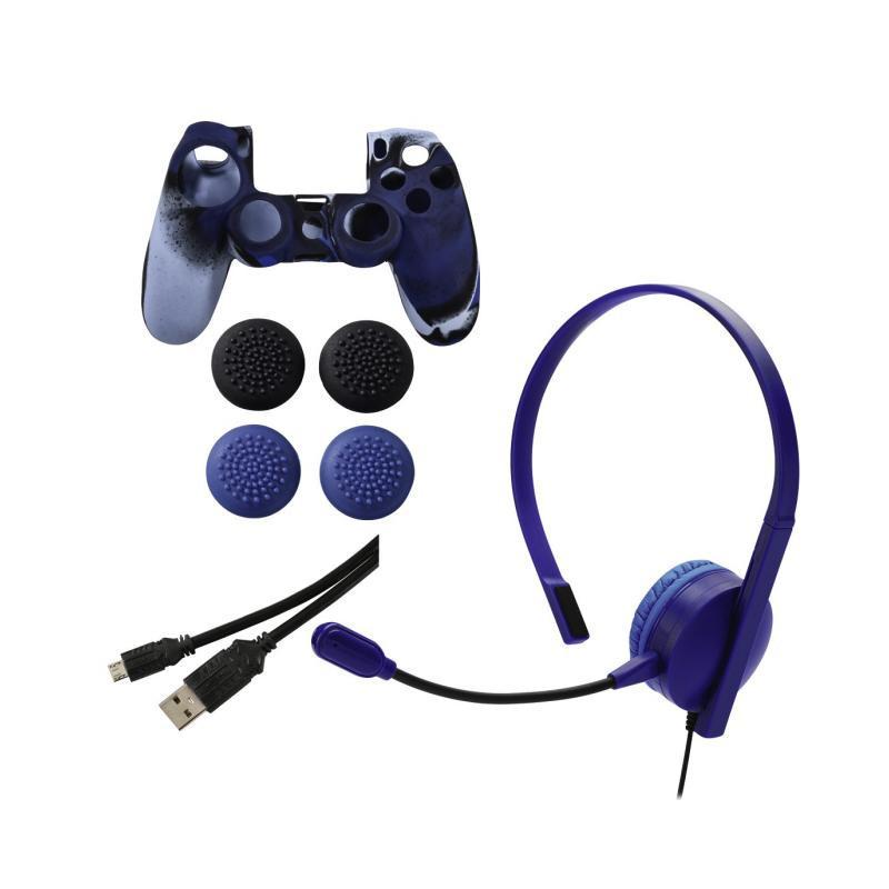Комплект аксесоари, за Sony PS4, chat, power & grip  2891