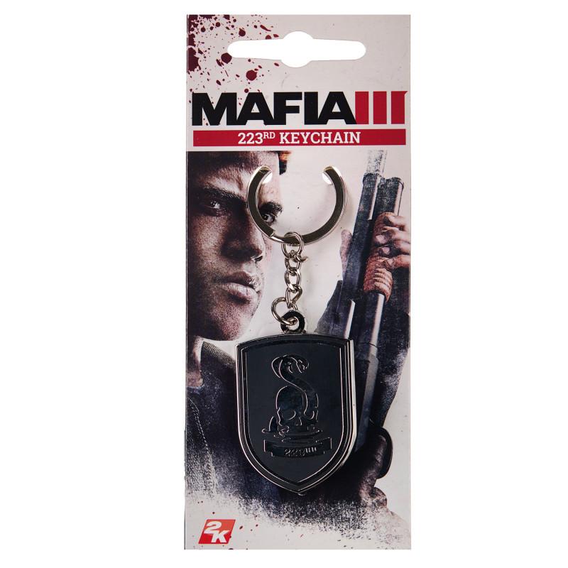 Ключодържател mafia iii 223rd gang logo meta  289930