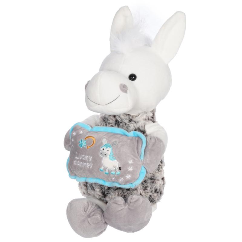 Плюшена играчка Магаре с възглавничка, 28 см.  290070