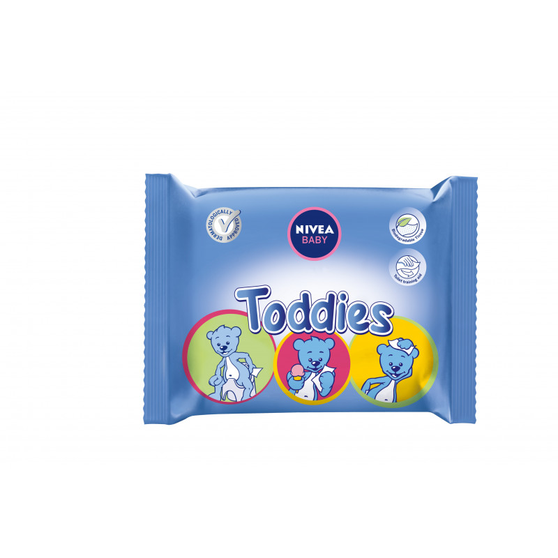 Baby кърпички toddies, 60 бр.  2928