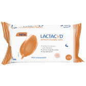 Daily 15бр интимни почистващи кърпи LACTACYD 2941