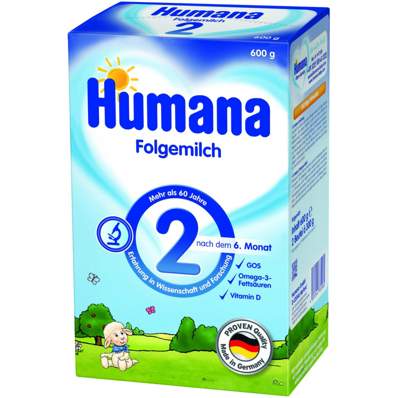 2 преходно мляко, 6+ месеца, кутия 600 гр.  2946