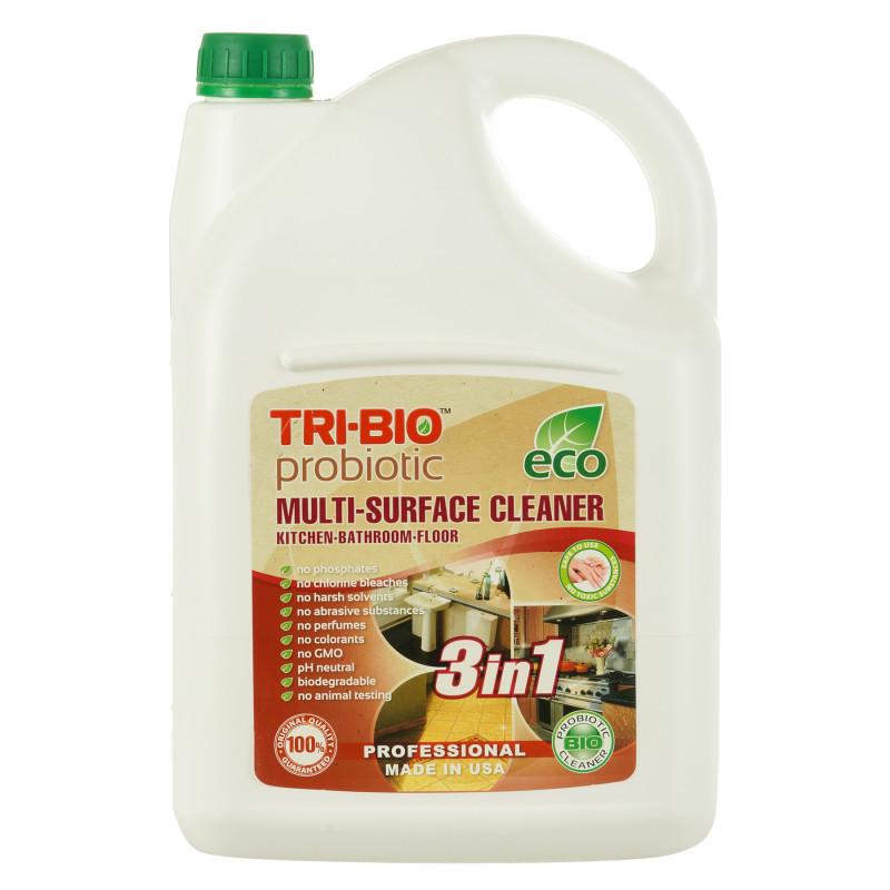 Tri-Bio Пробиотичен препарат за почистване за всякакви повърхности 3 в 1, 4.4L  295667