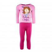 Памучна пижама за момиче Disney 29573