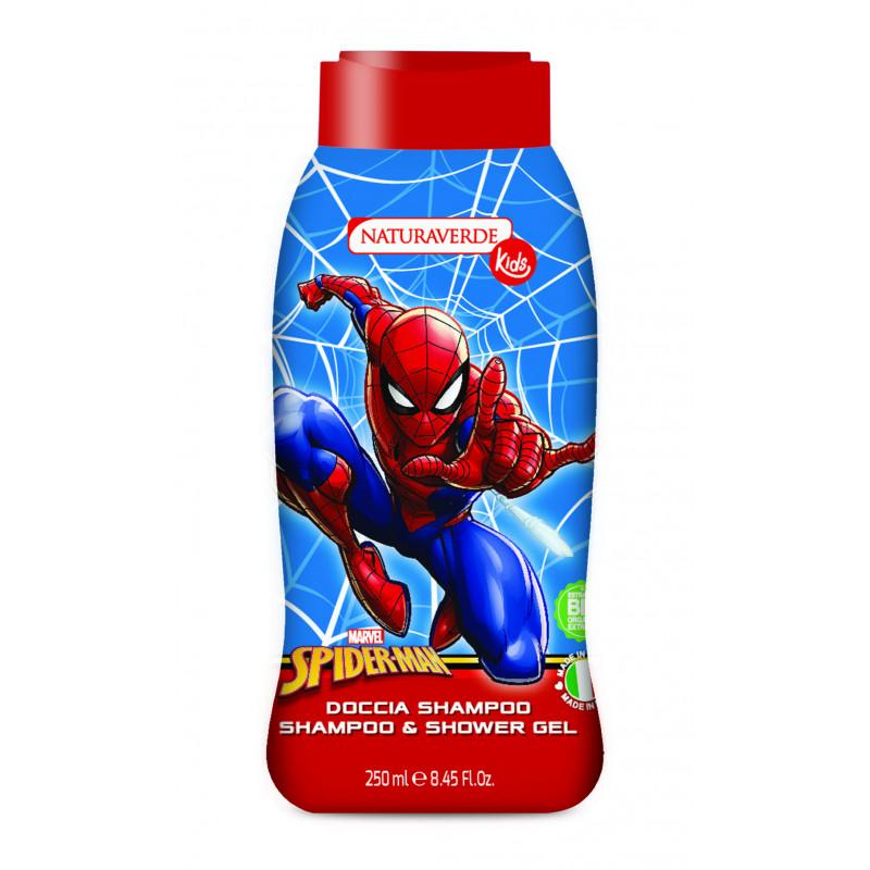 Детски душ гел за деца SPIDERMAN с екстракт от пшеничен зародиш  2977