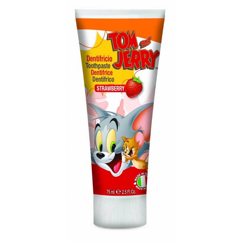 Паста за зъби Tom&Jerry, пластмасова тубичка, 75 мл  2981