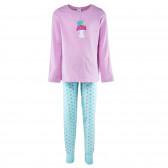 Памучна пижама за момиче SANETTA 29878