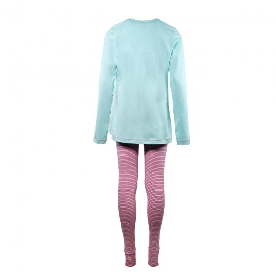 Памучна пижама за момиче SANETTA 29907 2