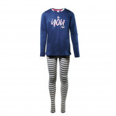 Памучна пижама за момиче SANETTA 29910