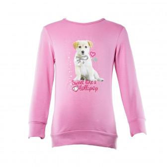 Ватирана блуза за момиче SALT AND PEPPER 30400