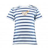 Памучна тениска за бебе момче Steiff 30484