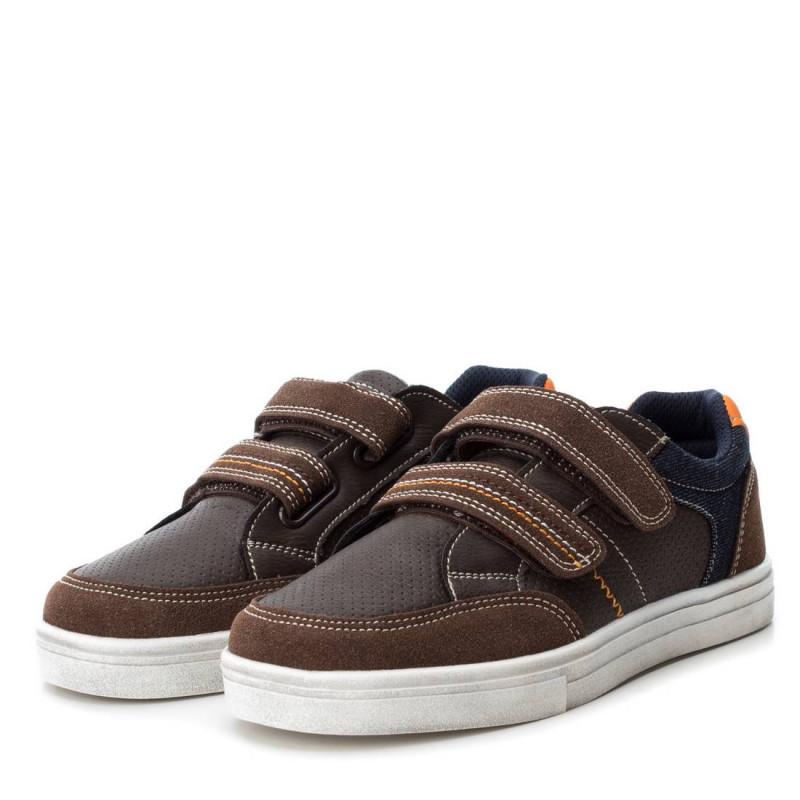 Кожени обувки за момче с мека подплата  3087